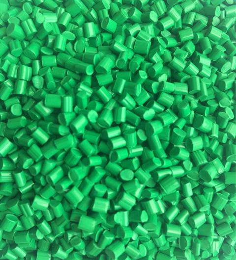 全彩绿色母粒QC6029