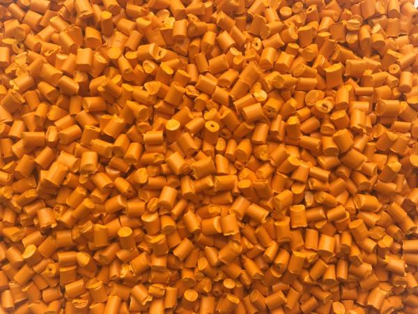 全彩橙色色母