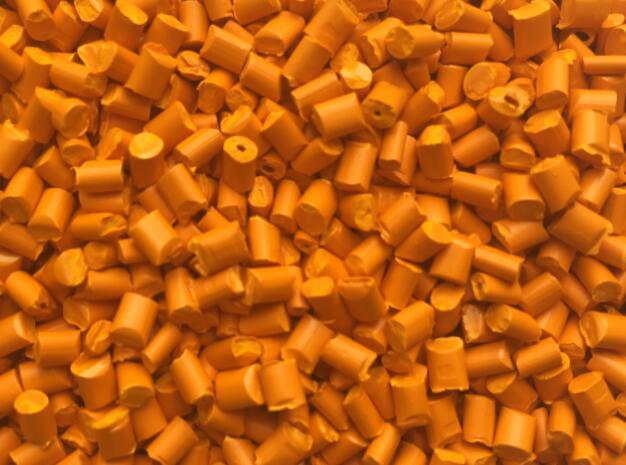 全彩橙色母粒QC2028